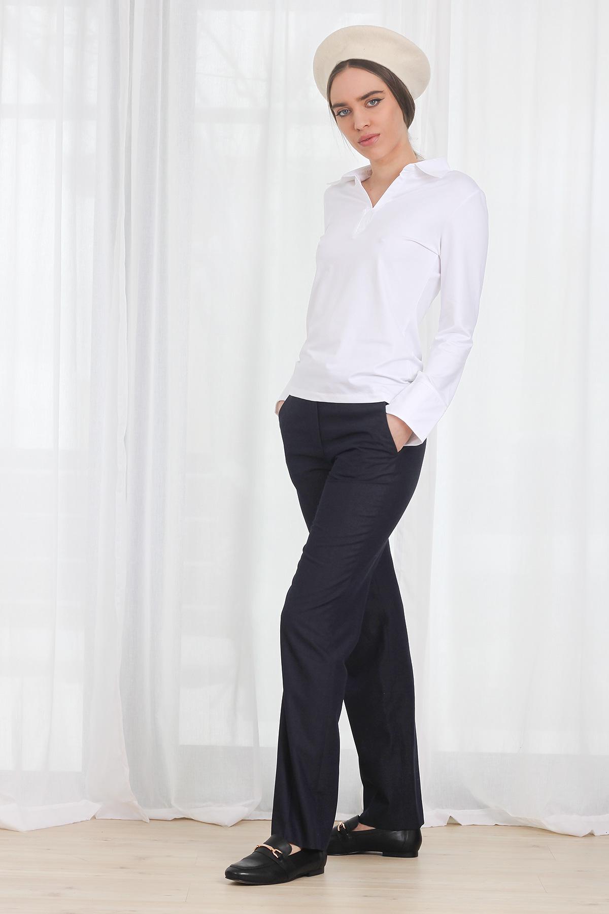Bluza COS Micro Polo White
