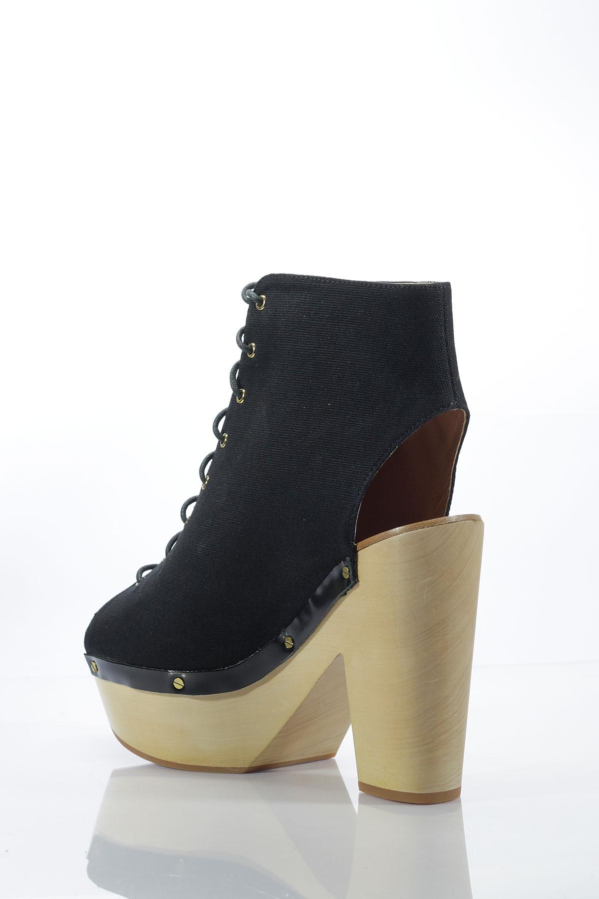Pantofi 2018 preț mai mic cu stil de moda Sandale -botine &Other Stories Dolce Black la numai 139.00 lei ...