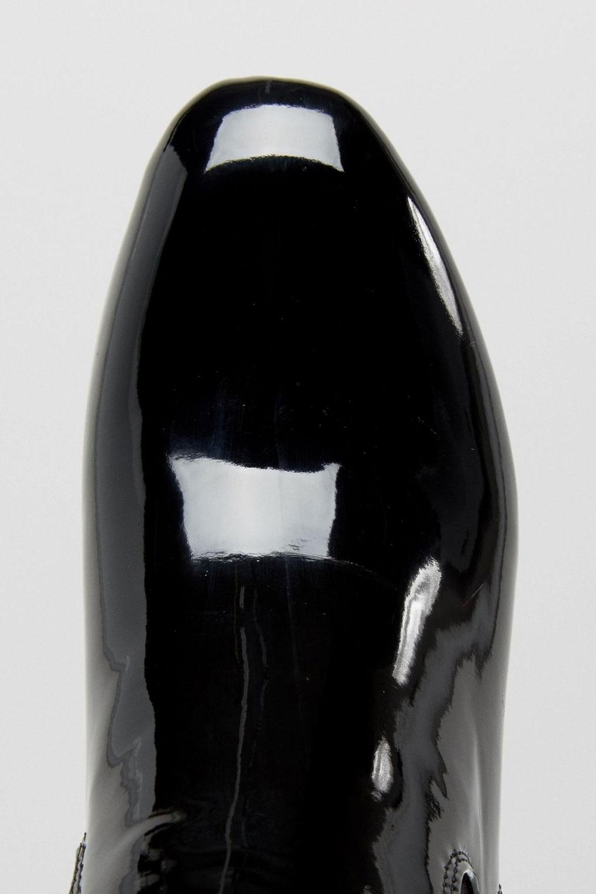 Botine Daisy Street Black Patent