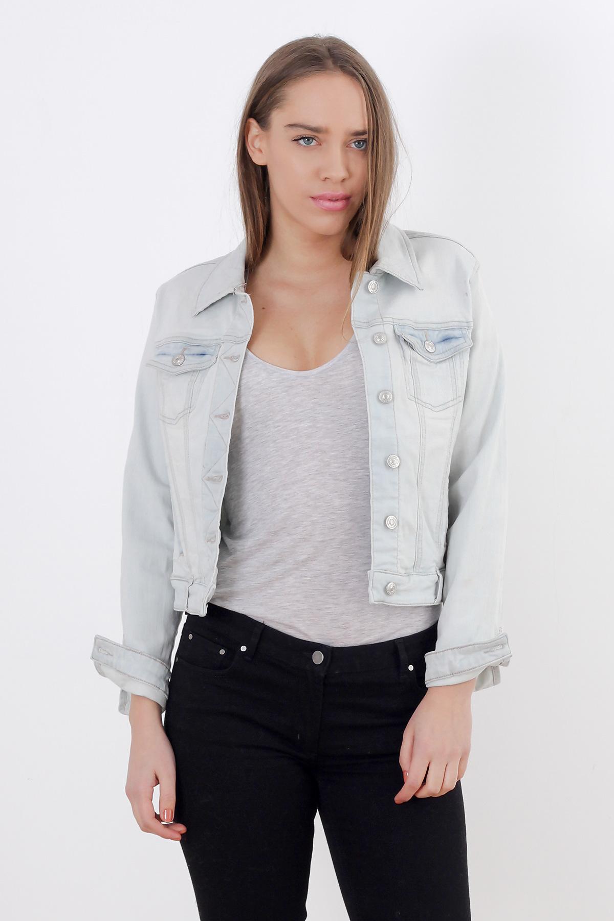 Jacheta jeans Pimkie