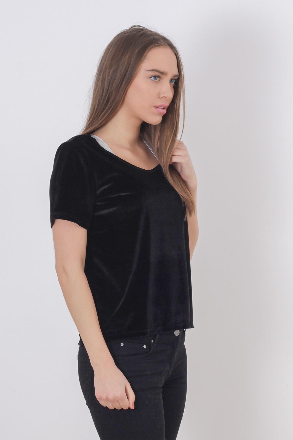Tricou negru Pimkie