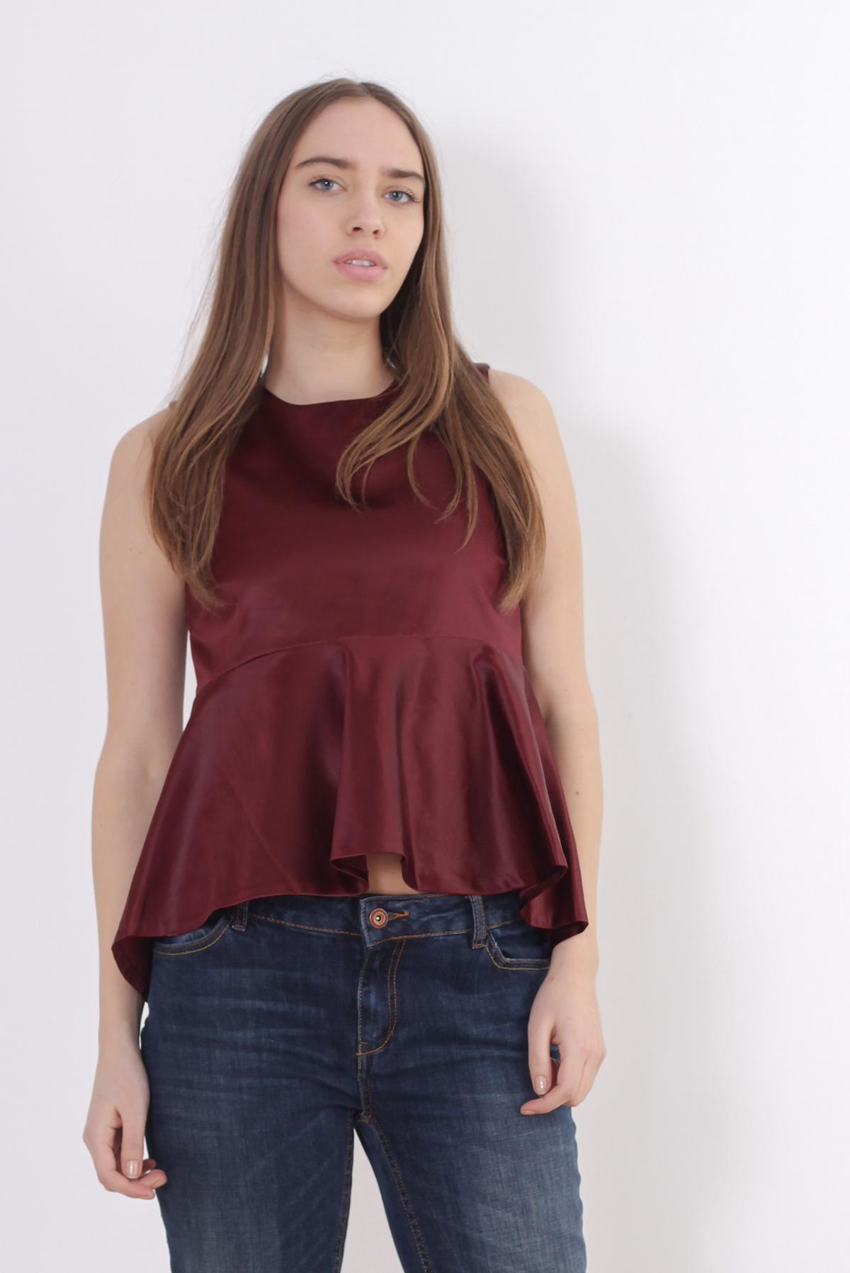 Bluza caramizie Zara