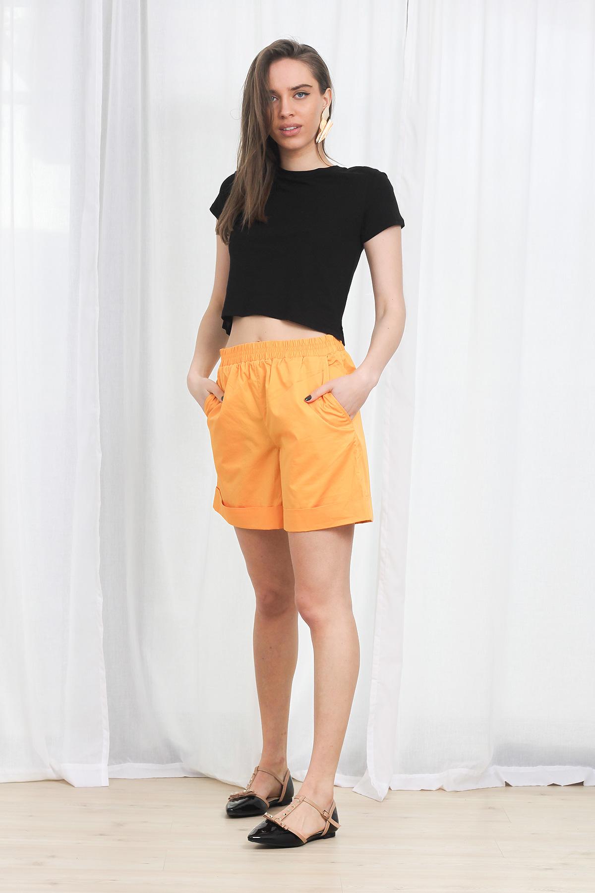 Pantaloni COS Elasticated Yellow