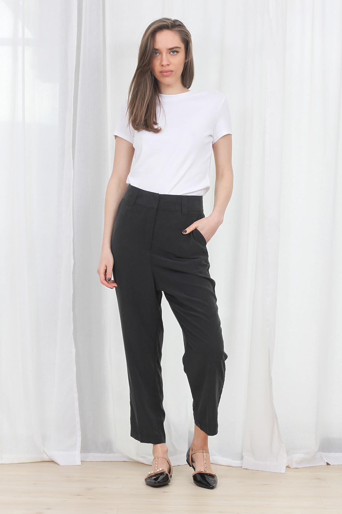Pantaloni Weekday Cupro Loop