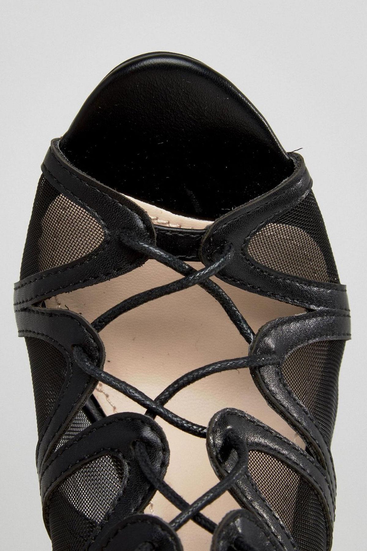 Sandale Public Desire Nita tie Up