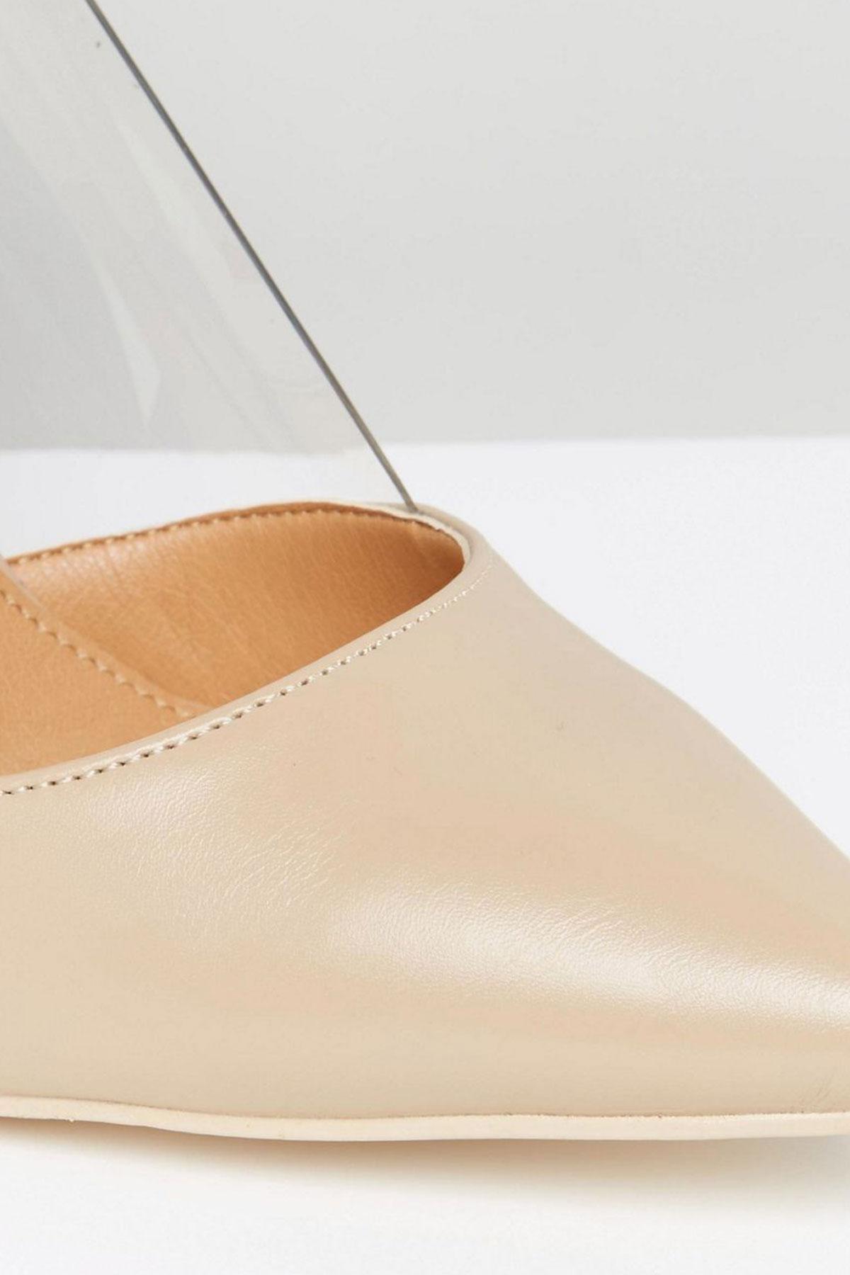 Pantofi Public Desire Keely Clear Detail Court
