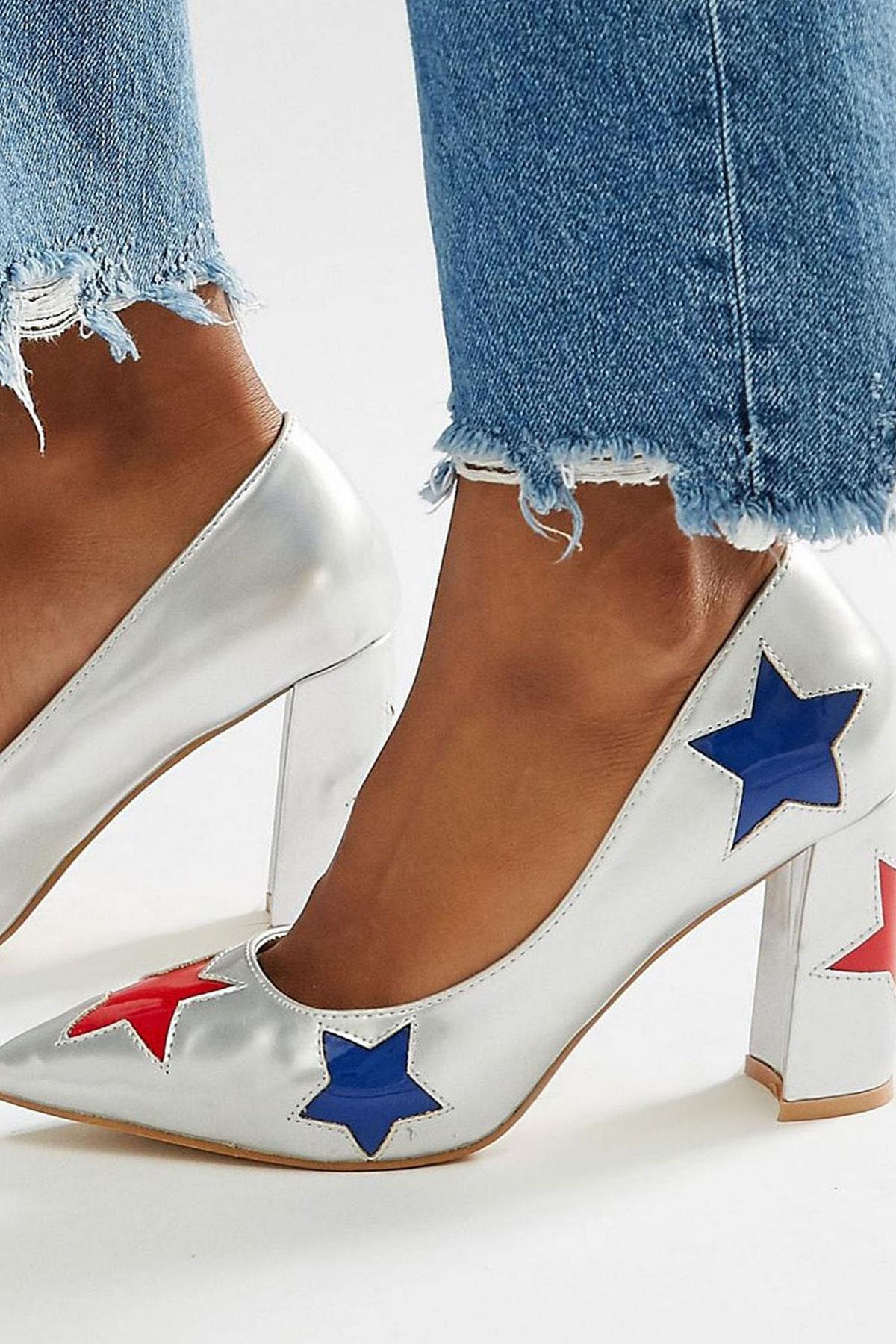 Pantofi Daisy Street Star Heeled