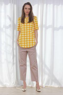 Bluza COS Check Yellow