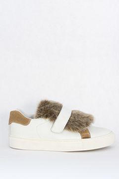 Pantofi Sport din piele Furry