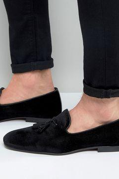 Pantofi ASOS Tassel Velvet