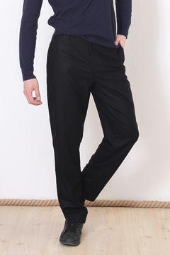 Pantaloni COS pentru barbati din stofa Black