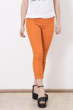 Pantaloni Monki oranj