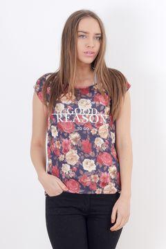 Tricou cu imprimeu floral Pimkie
