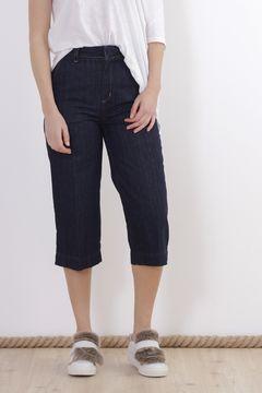 Jeansi indigo trei-sferturi Zara