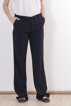 Pantaloni bleumarin Classic Zara