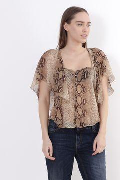 Bluza cu maneci largi Zara