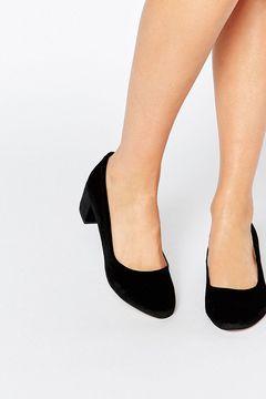 Pantofi River Island Block Heel Balet Shoe