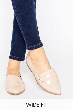 Pantofi Asos Marika Wide Flat